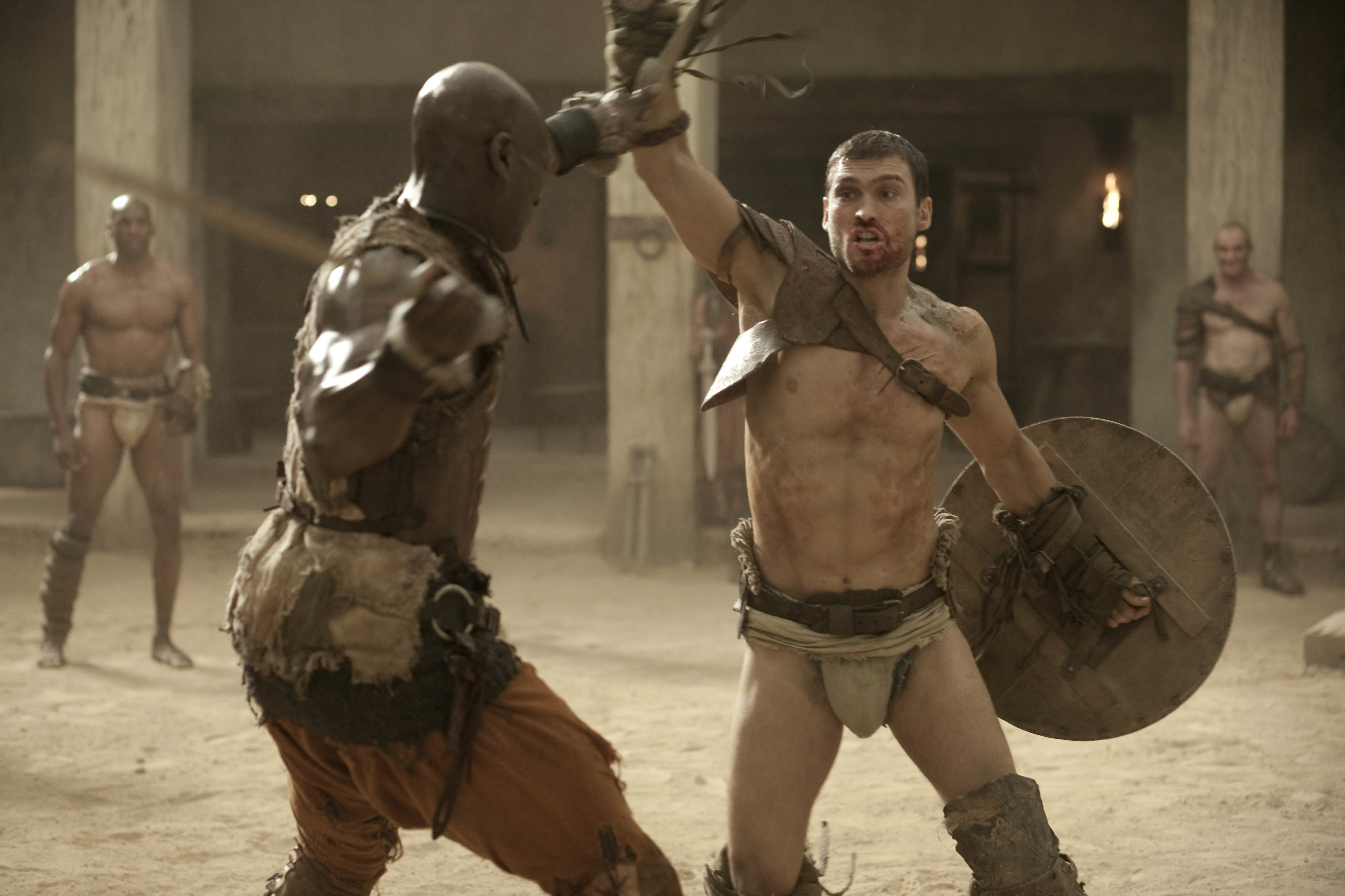 Spartacus S1E5 Shadow Games